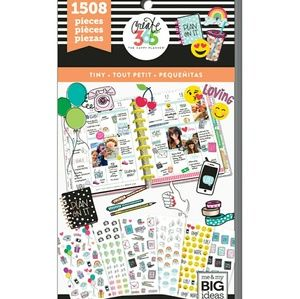 The Happy Planner Tiny Sticker Book 1508 Pieces